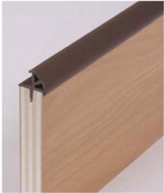 Furniture board lining carpet t edging catches locks for Furniture t trim edging