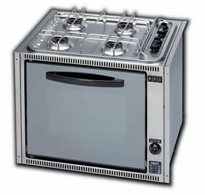 SMEV SH4OVGTLI 4 Burner Cooker with Thermostat, 12v Lamp and 12v Ignition