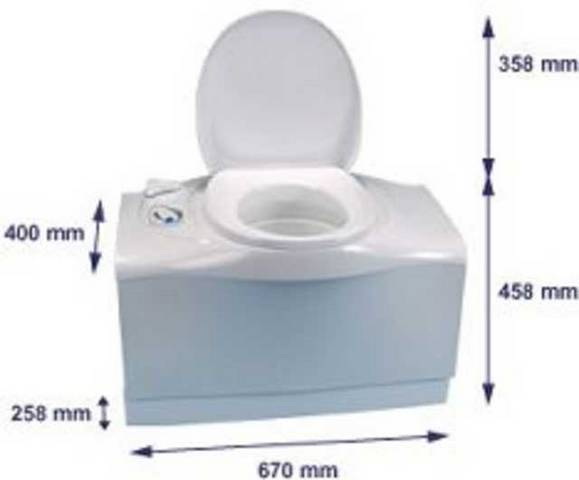 Thetford Cassette C200 C400 C250 Bravura Porta Potti Toilets